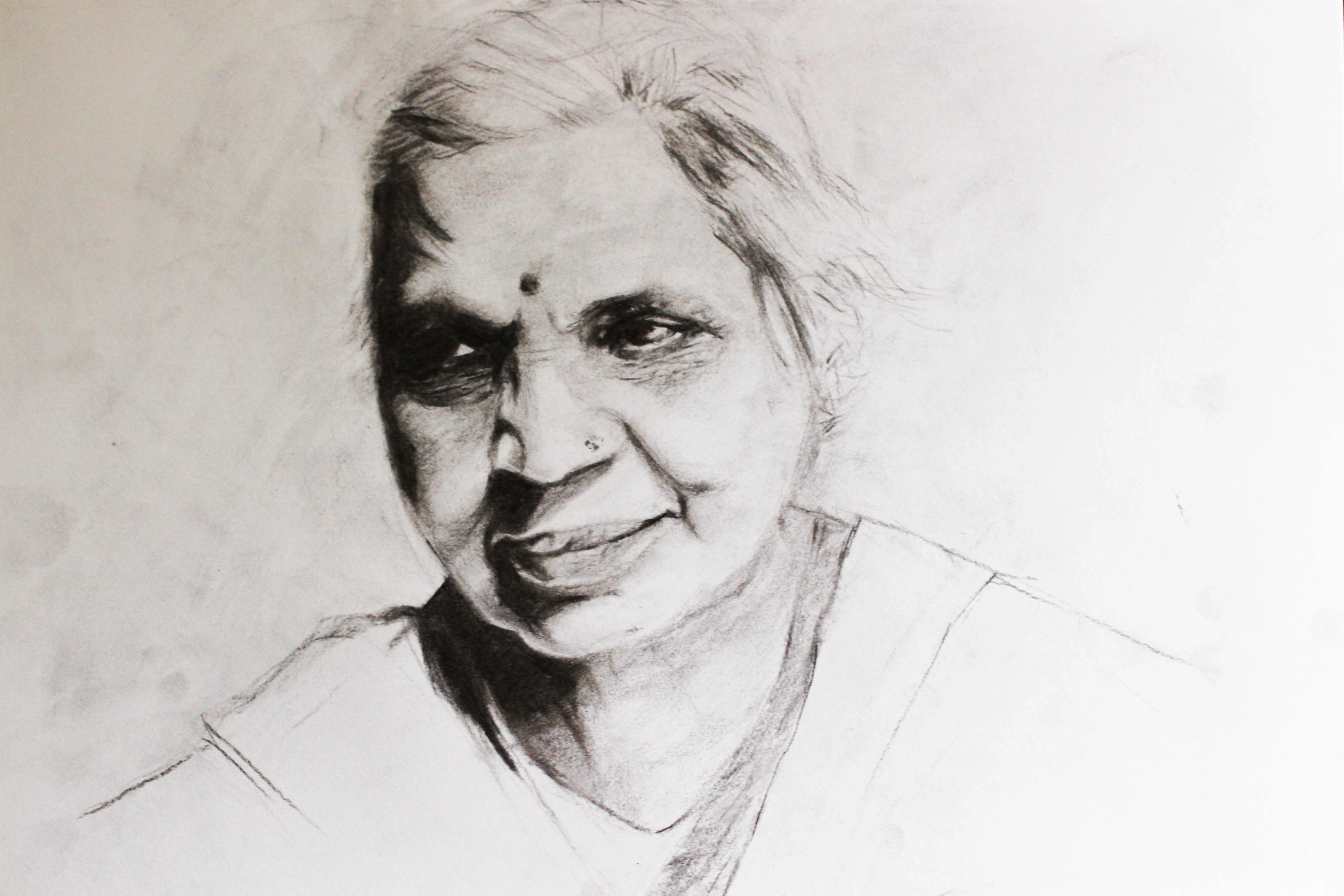 Mrs-Singh-Charcoal-Aug-2014