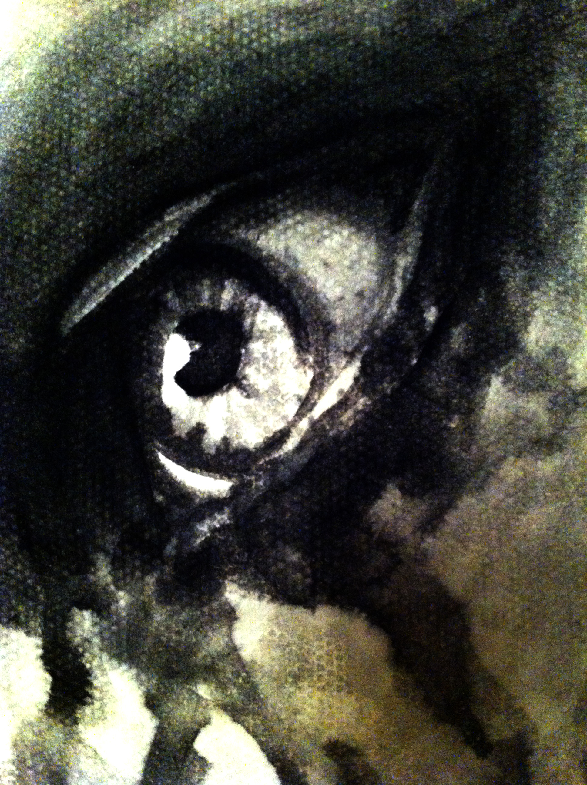 Eye - watercolour